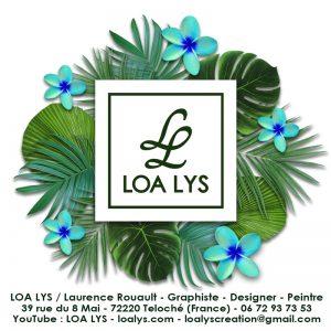 carte exotique LOA LYS